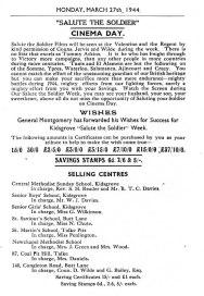 1940's Souvenir Programme 2