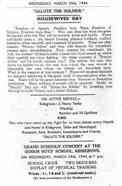 1940's Souvenir Programme 4