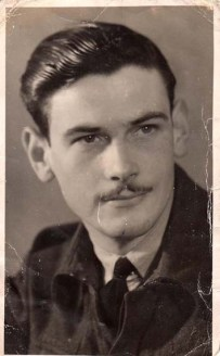 A picture of Fred during his RAF days.