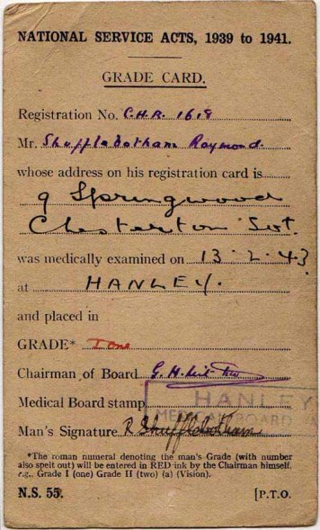Ray's Medical Card