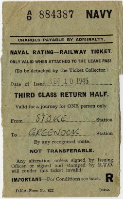 Ray's Railway Ticket